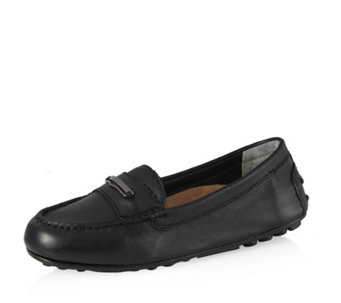 Vionic Orthotic Honor Ashby Leather Loafer w/ FMT Technology - 165742
