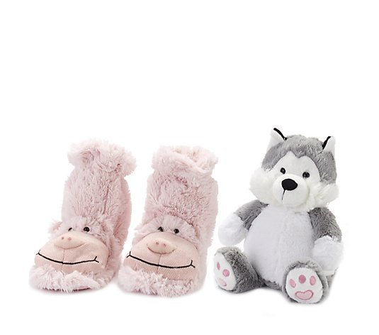 Aromahome Snuggable Hottie & Slipper Socks