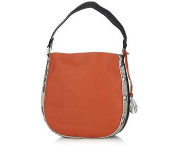 3753a30812 Amanda Wakeley The Midi Mara Leather Hobo Bag - 172042