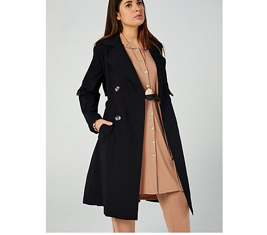 MarlaWynne Trench Coat with Belt