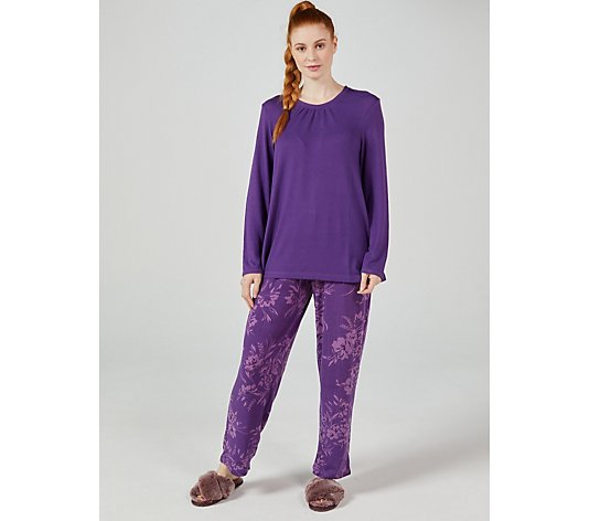 Carole Hochman Brushed PJ Set