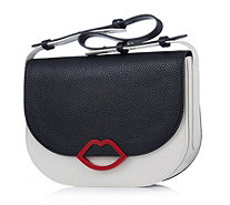 Lulu Guinness Rosie Smooth Leather Shoulder Bag - 163443