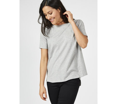ModernSoul Cozy Knit Seamed Swing Top