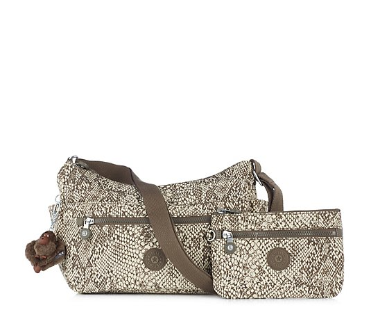 Kipling Eidda Basic Medium Crossbody Bag Plus Purse