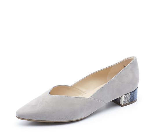 Peter Kaiser Shade Pointed Flat Court Shoe