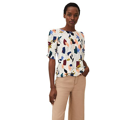 Phase Eight Torrie Printed Top