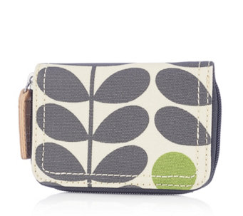Orla Kiely Early Bird Medium Zip Wallet - 161044