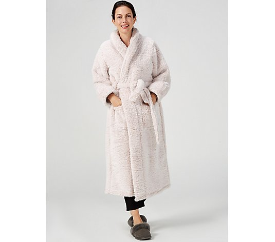 Cozee Home Tipped Ultra Fluffy Robe