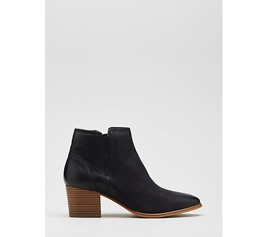 Dune Payge Low Heel Ankle Boot