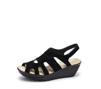 5289db61f314 Skechers Cali Parallel Wedge Sandal with Memory Foam - 171245