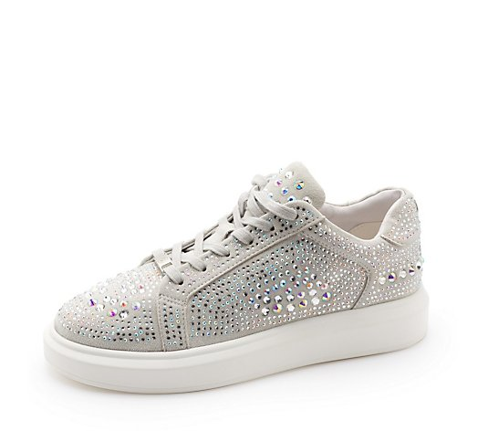 Outlet Moda in Pelle Alaria Jewel Trainer