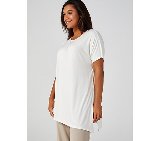 WynneLayers Extended Sleeve Tie Top