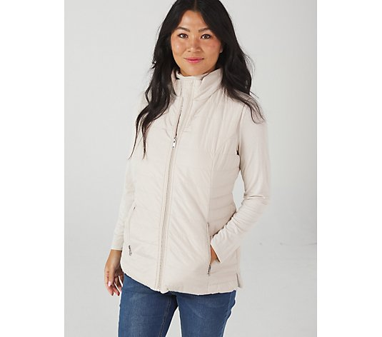 Centigrade Zip Front Padded Gilet with Pockets