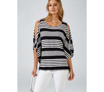 5f41048f3 Cold Shoulder Tops   T-shirts - QVC UK
