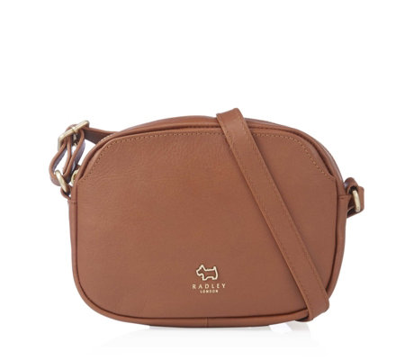pretty nice select for authentic offer discounts Radley London Greyfriars Gardens Small Leather Crossbody Bag - QVC UK