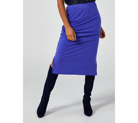 Jersey Midi Tube Skirt by Michele Hope