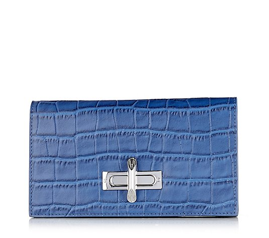 Amanda Wakeley The Mayfield Trifold Continental Purse