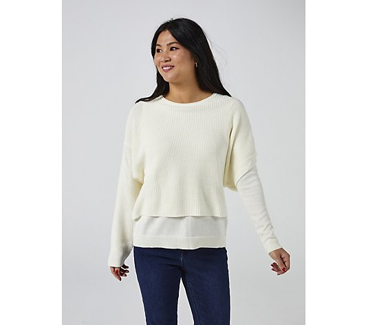 Attitudes by Renee Sweater Knit Top