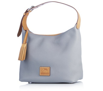 Dooney & Bourke Patterson Paige Pebble Leather Hobo Bag - 169247