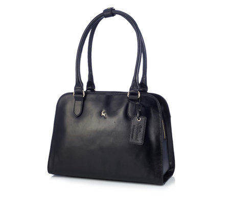 Ashwood Leather Double Compartment Tote Bag