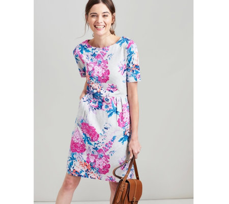 Joules Beth Lightweight Short Sleeve Dress