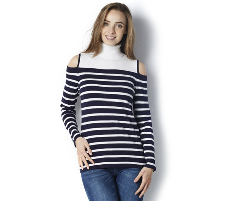 Cold Shoulder Jumper by Susan Graver