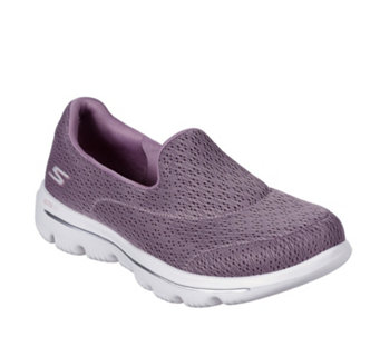 0dc15f2d18ed Skechers Go Walk Crochet Slip On Trainer - 175248