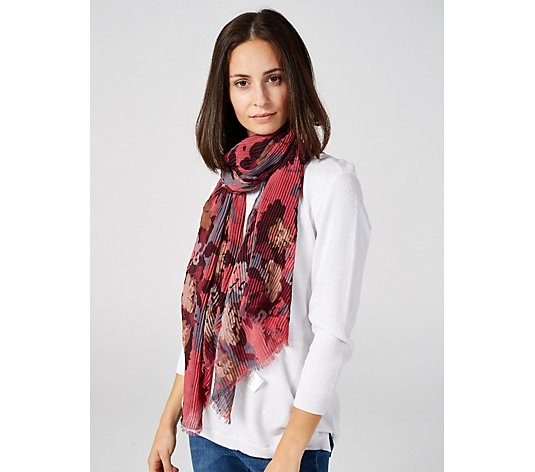 Outlet H by Halston Printed Scarf