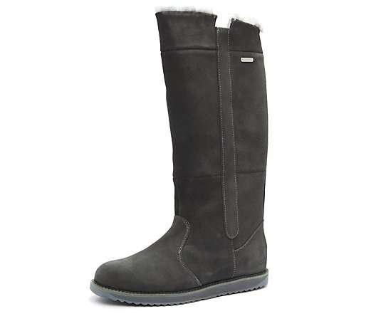 Emu All Weather Waterproof Coll Suede Sheepskin Moonta High Boot
