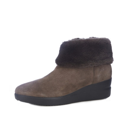 Geox Stardust Suede Ankle Boot