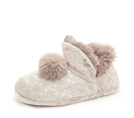 Pretty You Pom Pom Afton Slipper Gift Box
