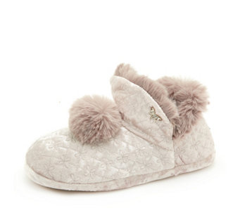 e0400618ed8cff Pretty You Pom Pom Afton Slipper Gift Box - 173949