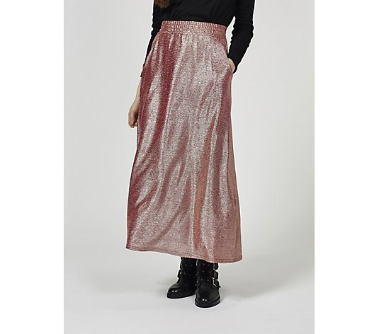 Onjenu London Metallic Olivia Skirt