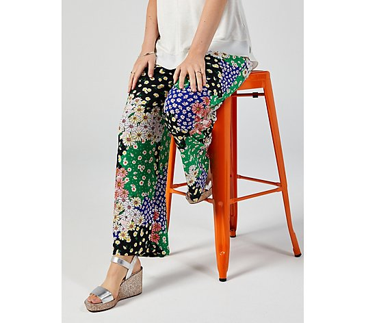 Perceptions Printed Trousers