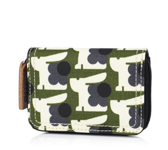 Orla Kiely Baby Bunny Medium Zip Wallet - 161050
