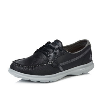 Skechers GO STEP Shore Embossed Perform Tex Boat Shoe - 167450