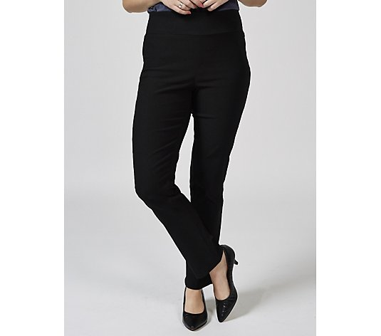 Mr Max Modern Stretch Mesh Panel Insert Tapered Trousers Petite Length