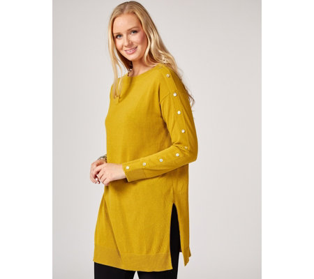 MarlaWynne Button Detail Tunic