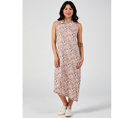 ModernSoul Printed Shibori Dress