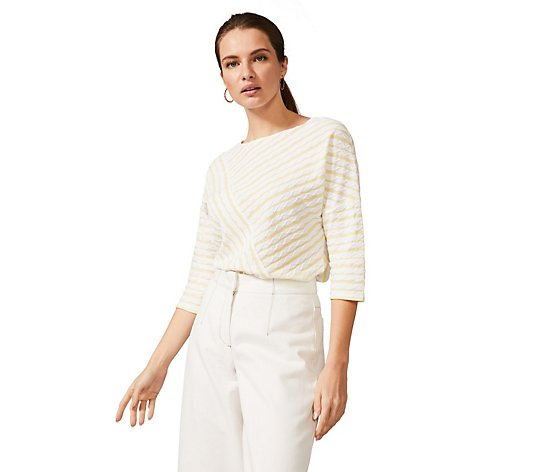 Phase Eight Textured Wave Top