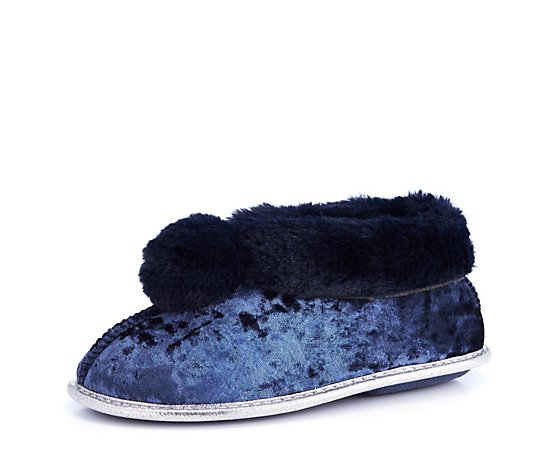 Pretty You Annabel Pom Pom Slipper
