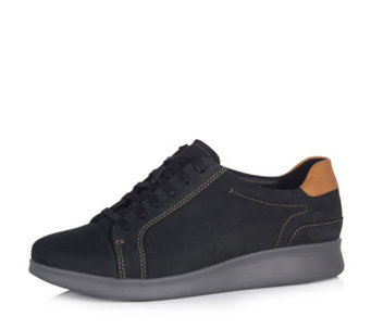 Clarks Un Flare Lace Up Trainer - 167053