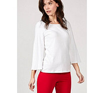 Women with Control Bell Sleeve Top - 170553