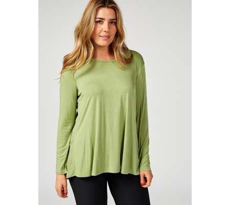 Antthony Designs Long Sleeve Tunic with Gathered Back Detail