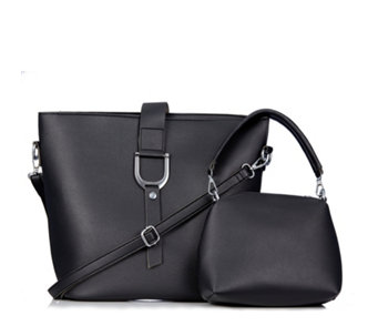22816ea0bd2131 Frank Usher Two In One Slouchy Bag - 178053