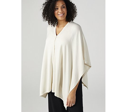 Wynnelayers Sweater Knit Convertible Poncho