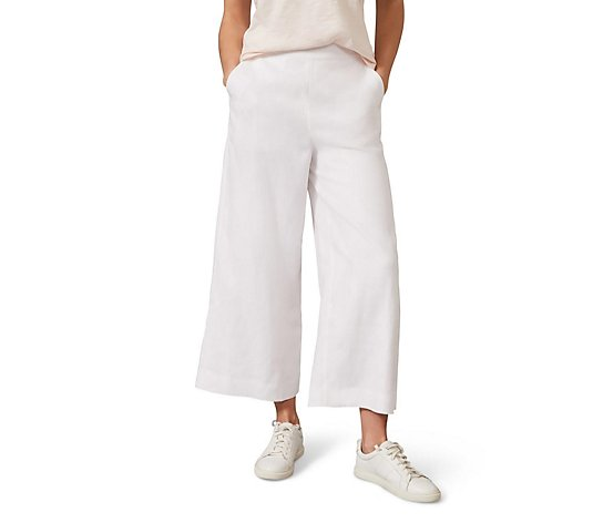 Phase Eight Luna Linen Crop Trousers
