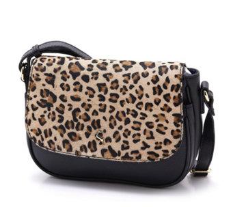 Ashwood Leather Leopard Crossbody Bag - 174954 fc0b4c7fa51af