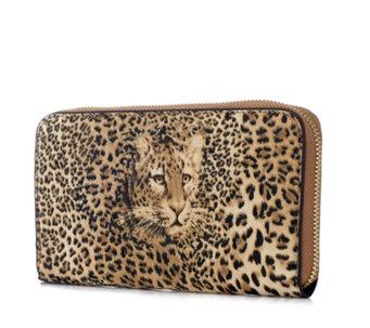 Butler Wilson Leopard Wallet 176454