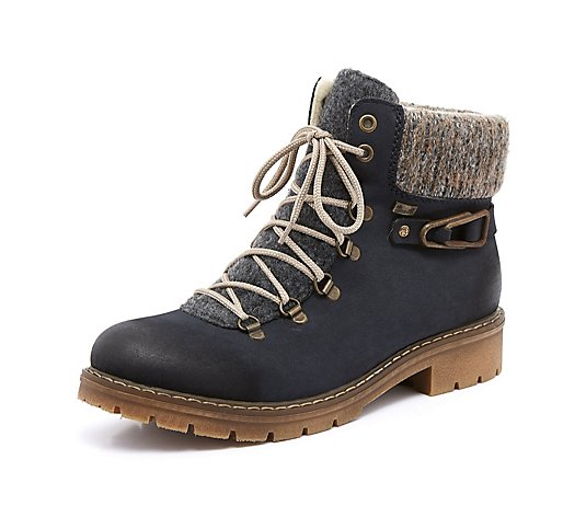 Rieker Lace Up Hiking Boot